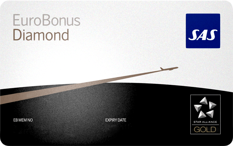eurobonus diamond card