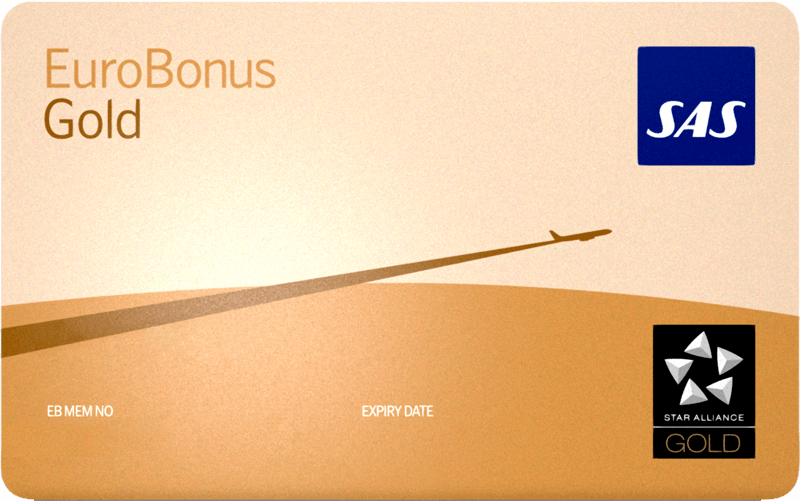 eurobonus gold card